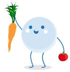 Lentilla zanahoria