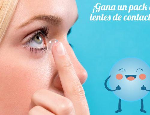 ¡Participa y consigue un pack de lentes de contacto para 3 meses!