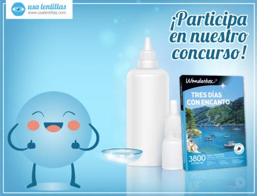 ¡Concurso! ¡Participa y consigue cofres-experiencia y packs de lentes de contacto para 3 meses!