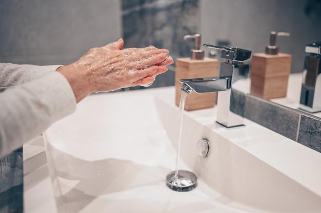 covid lavado manos